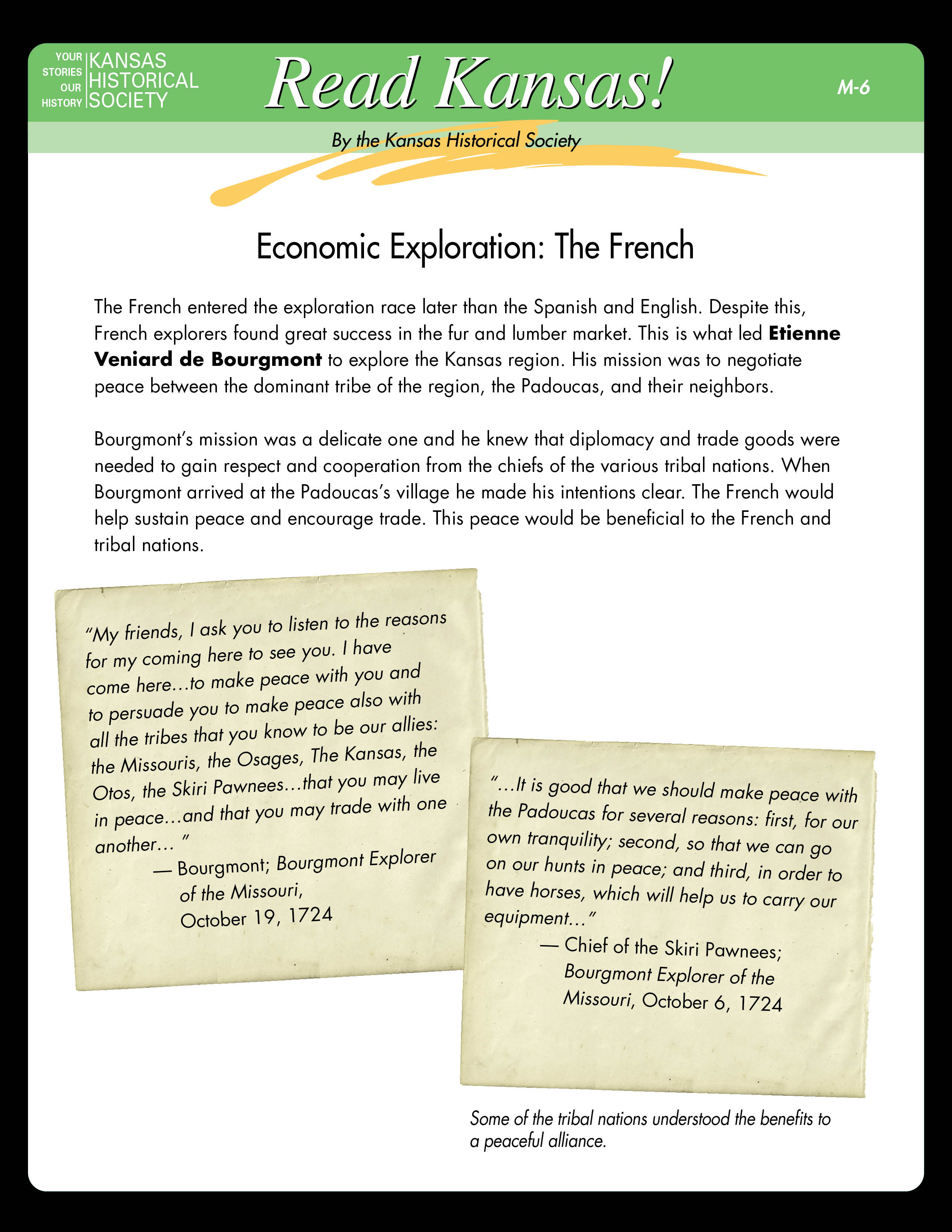 M6 - Economic Exploration: The French