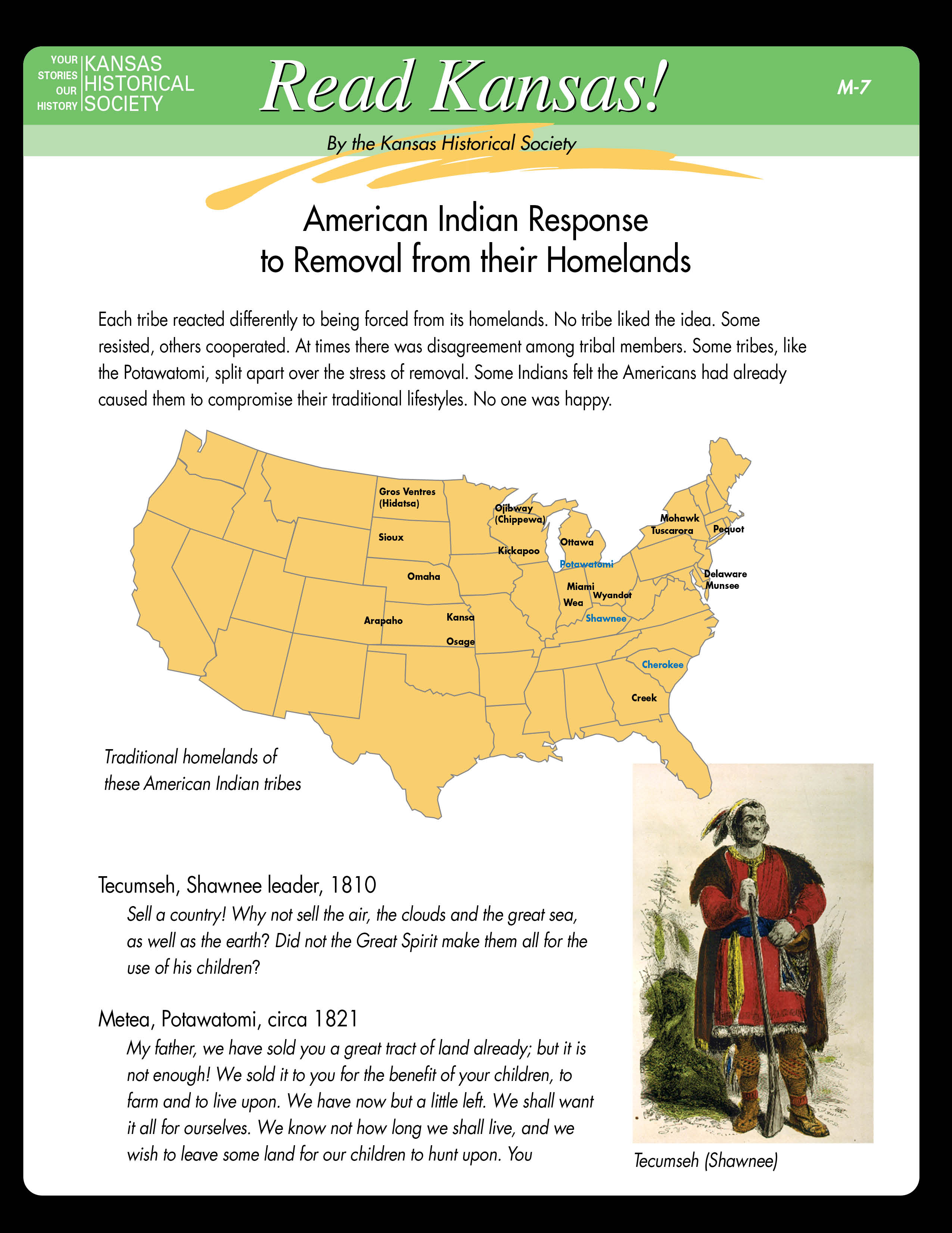 American Indian Response to Removal