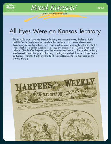 M-13  All Eyes on Kansas Territory