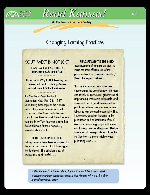 M-31 Changing Farming Practices