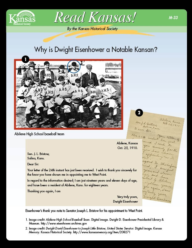 Why is Dwight D. Eisenhower a Notable Kansan?