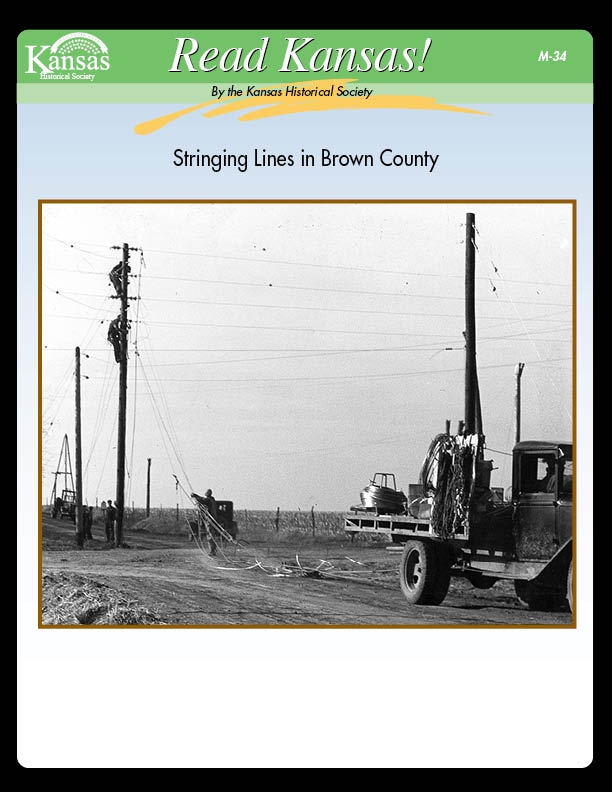 Stringing Lines in Brown County