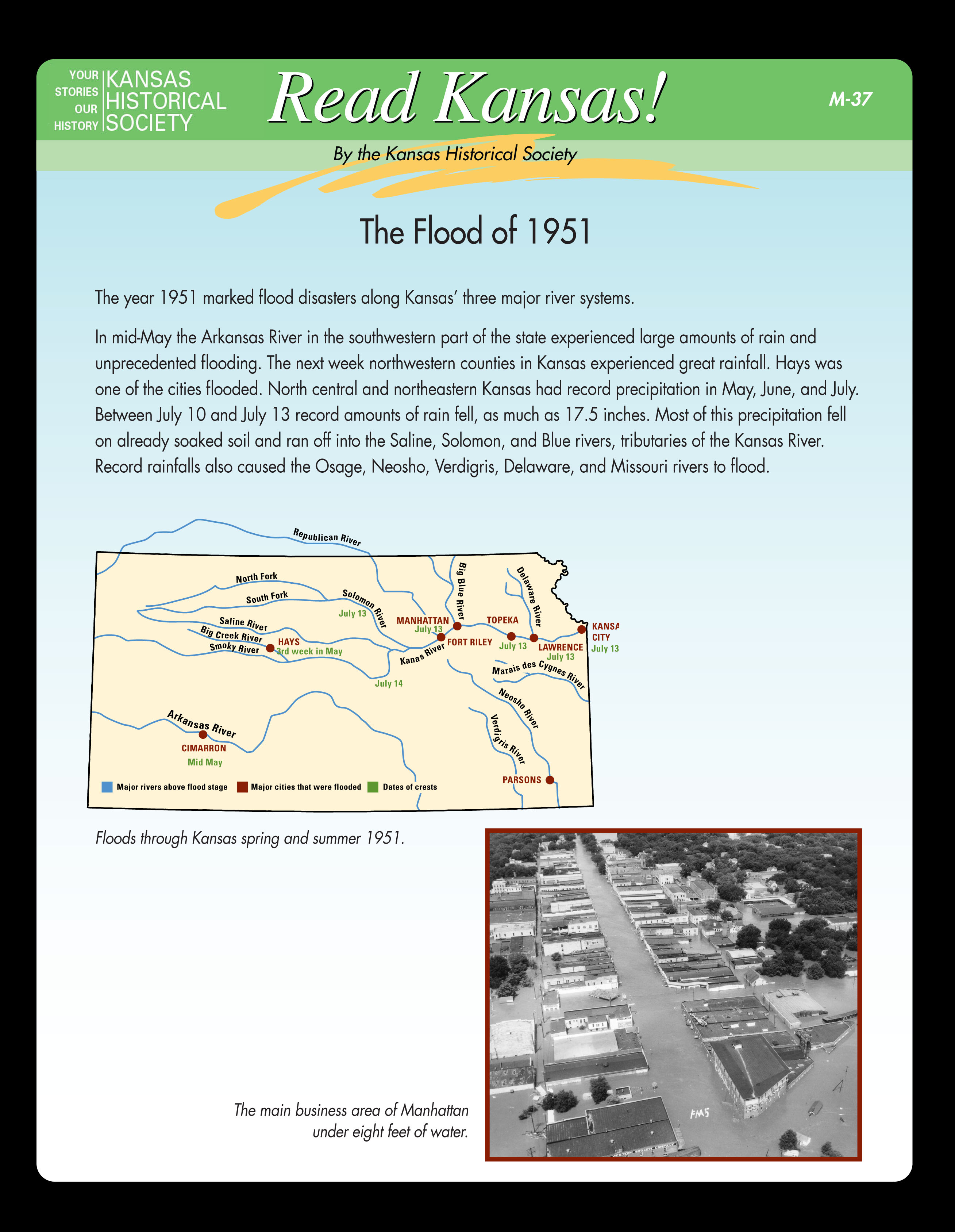 M-37 The Flood of 1951