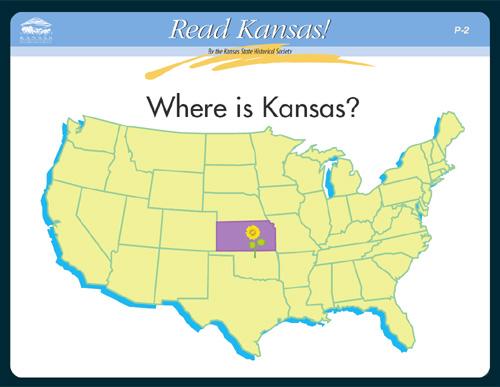 Read Kansas Primary P 02 Where Is Kansas Kansas