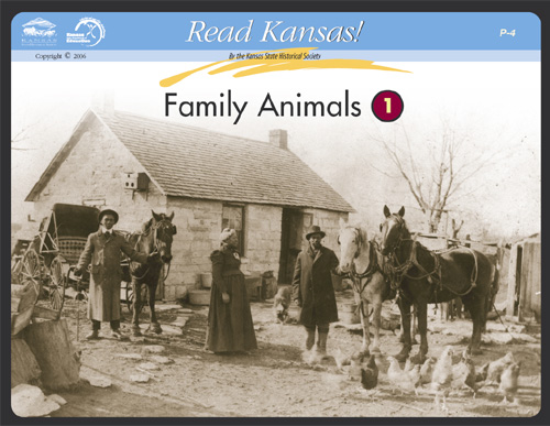 P - 4 Family Animals: Reading Historic Photographs
