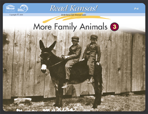P - 4 Family Animals:  Reading Historic Photographs Card 2
