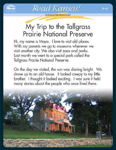 P - 17 Historic Places in Kansas Card 1