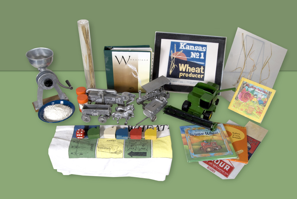 Sampling of items from Wheatland trunk